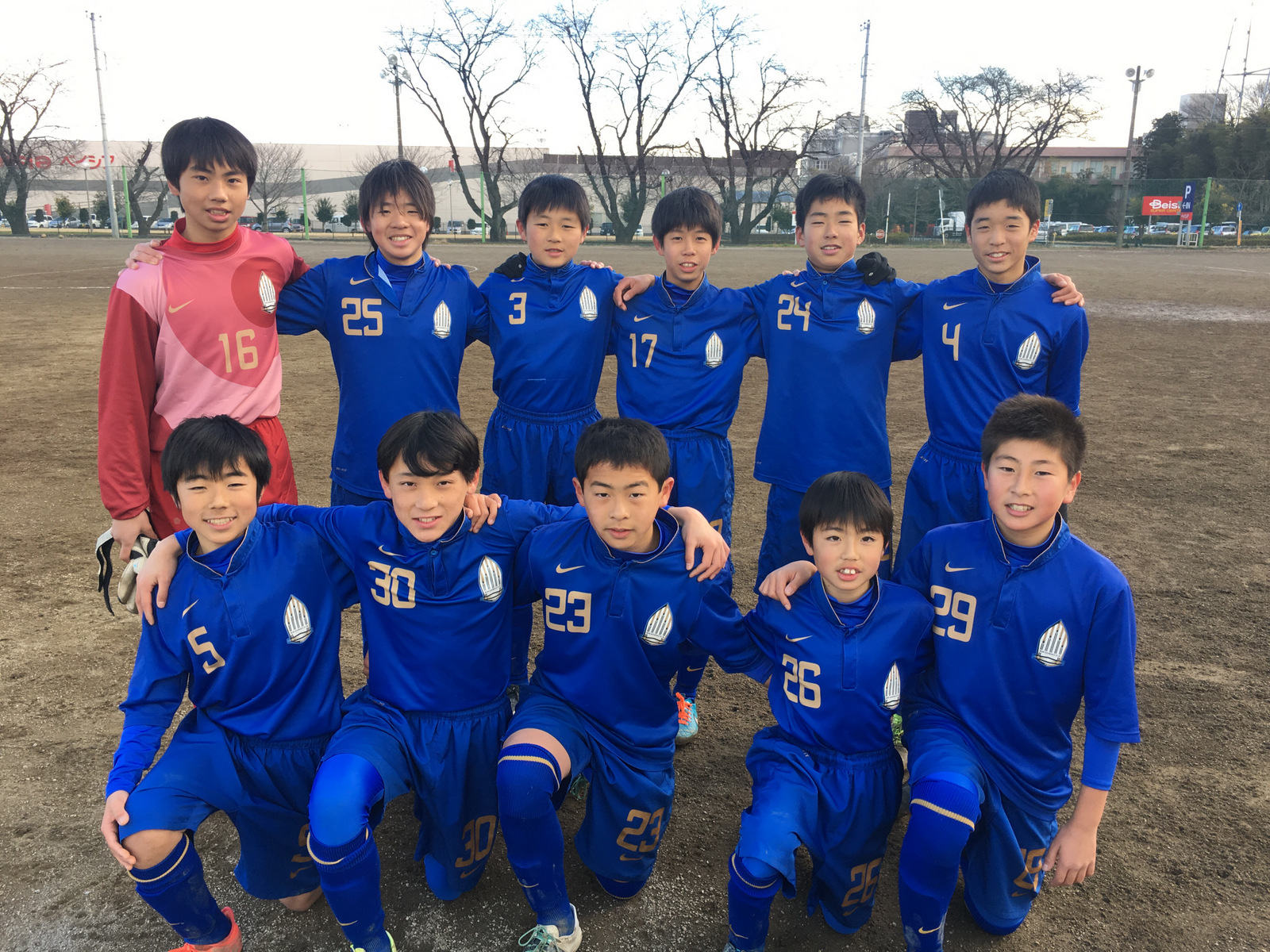 【U13】公式戦の結果お知らせ(Liga-upset 、東葛フレッシュマンズカップ)