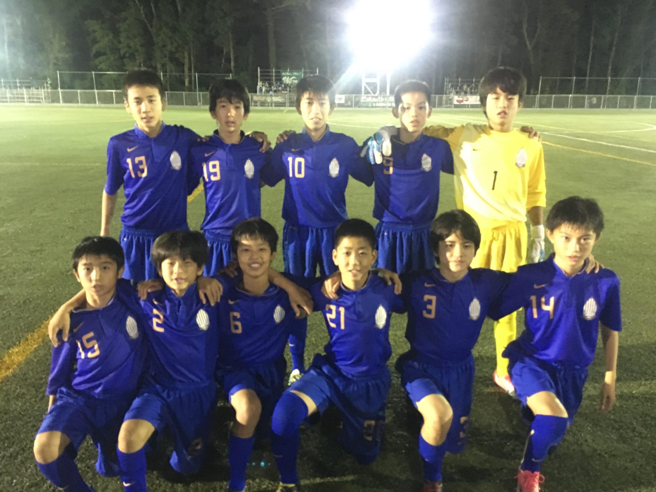 【U13】第8回 千葉県ユース(U-13)サッカーリーグ 1部リーグ【第5節】