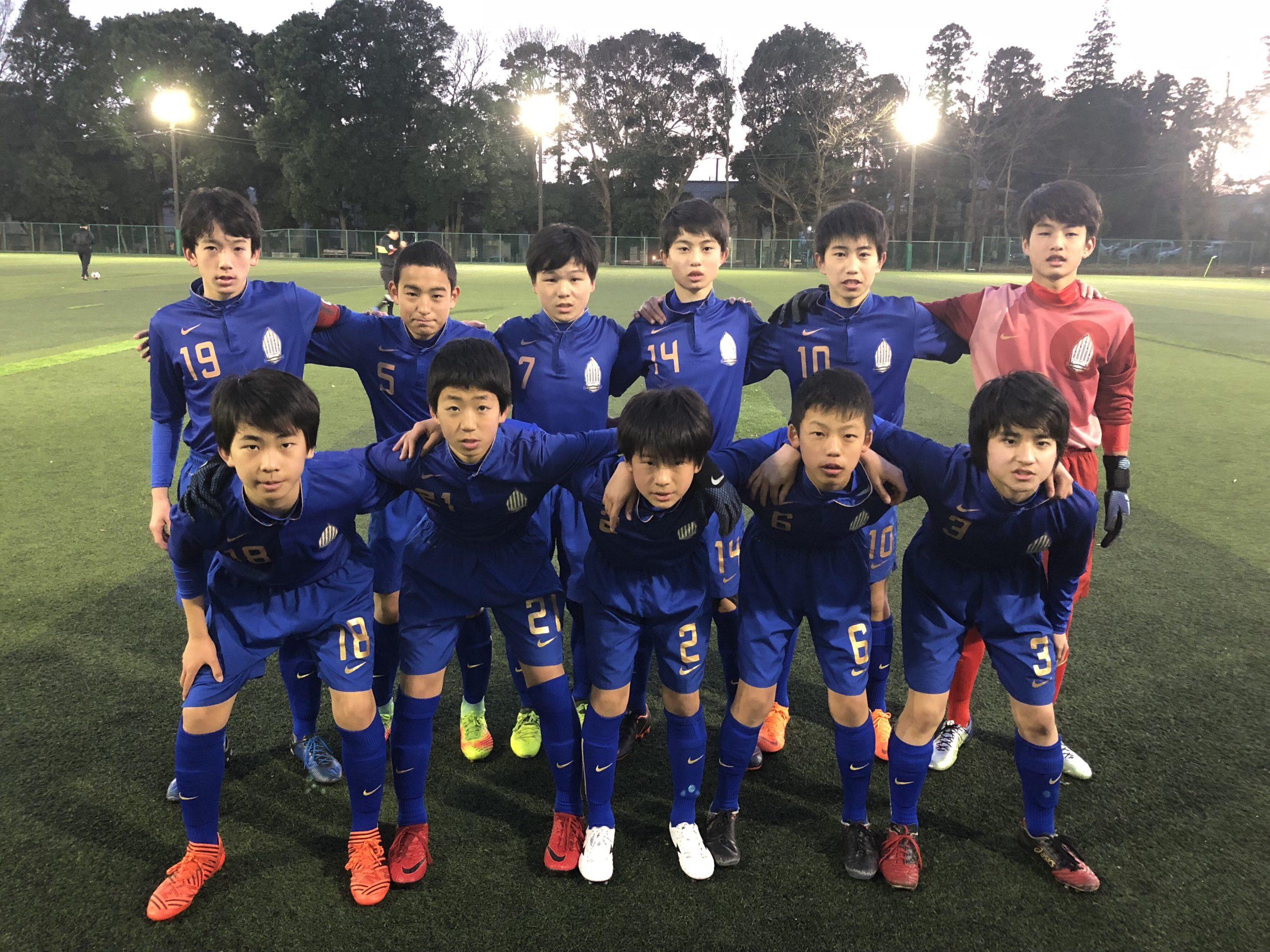 【U13】1部リーグ残留決定 第8回 千葉県ユース(U-13)最終結果