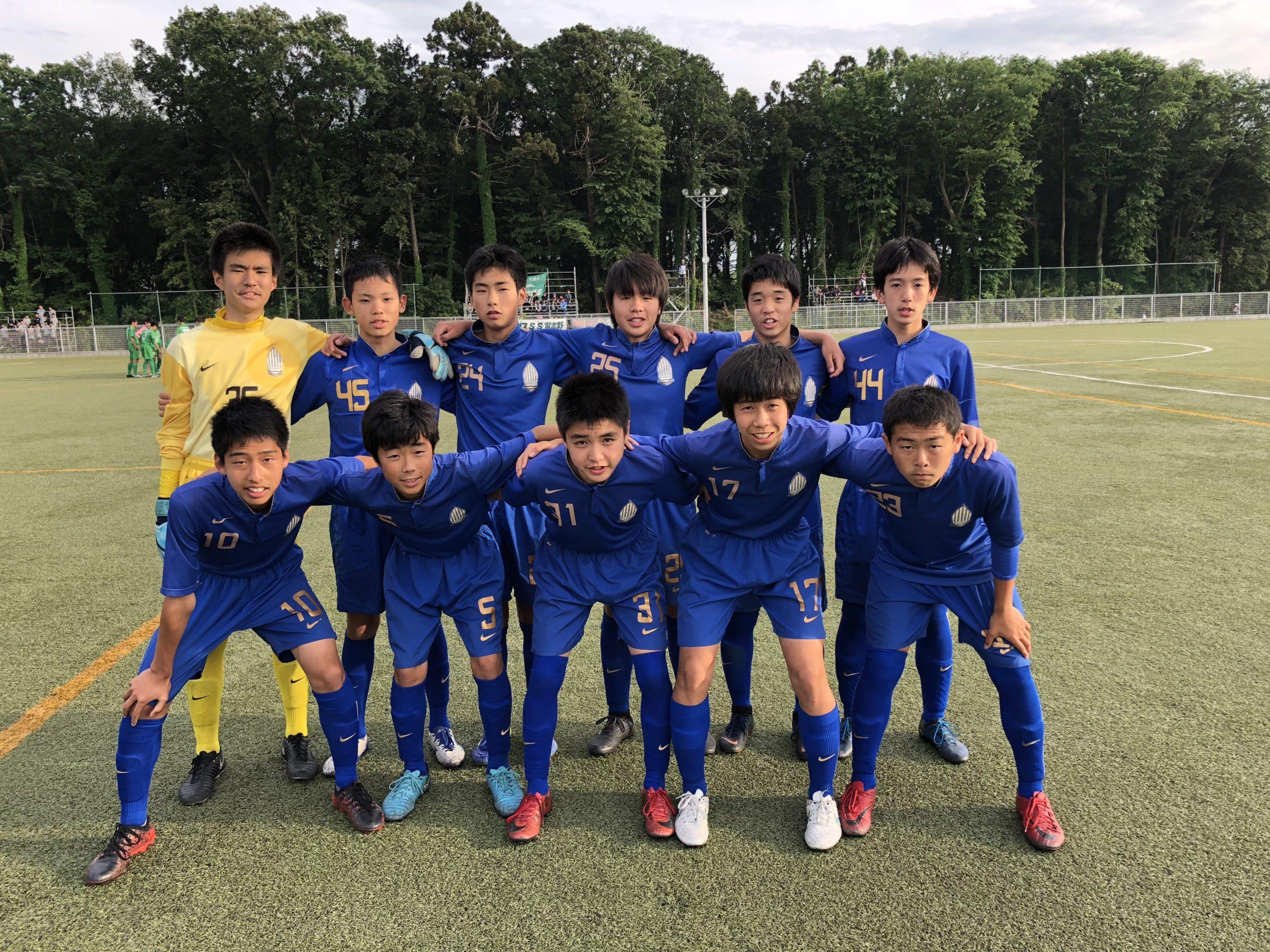 【U15】日本クラブユース(U-15)サッカー選手権大会 千葉県大会