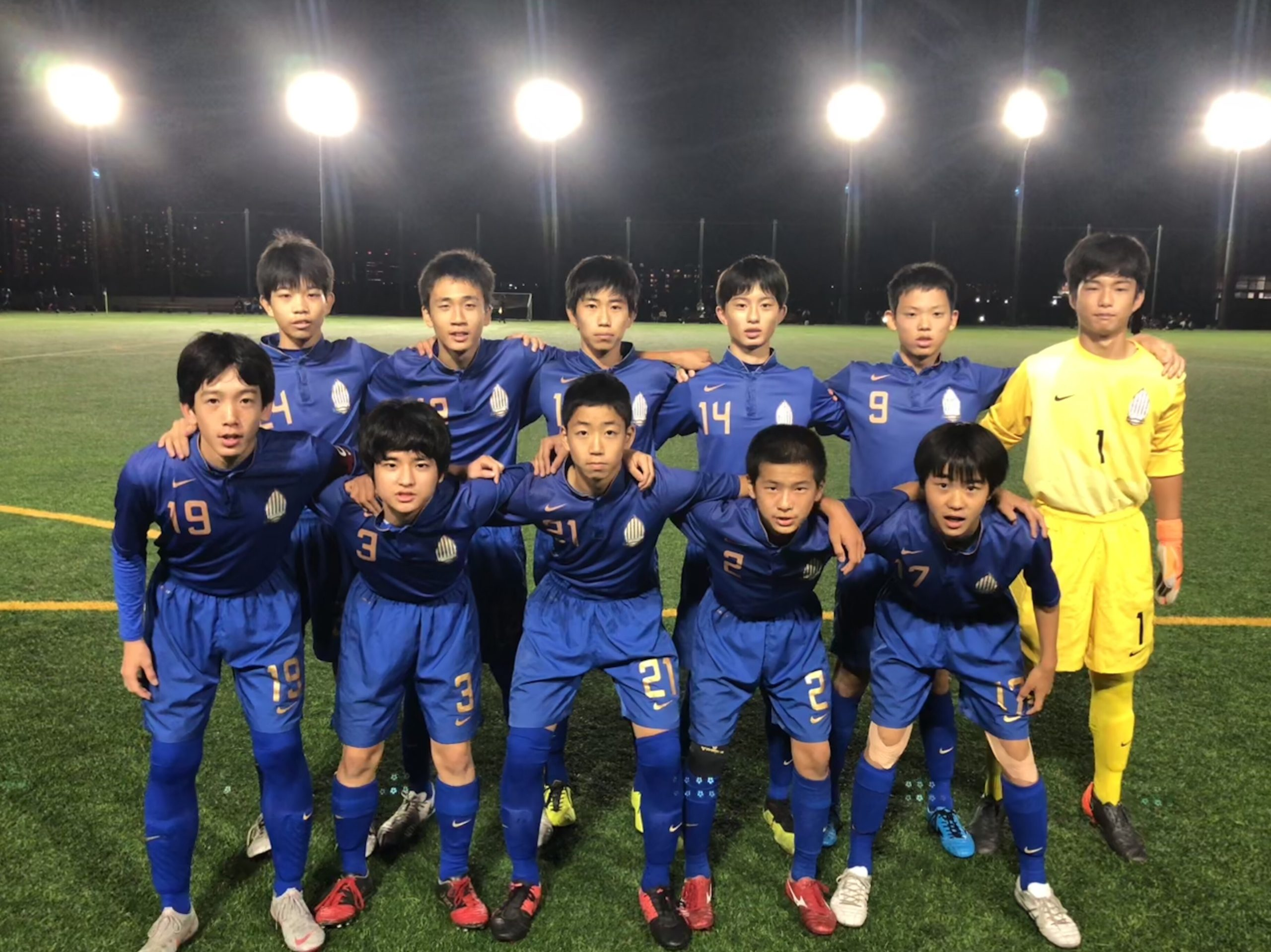 【U14】千葉県クラブユース(U-14)サッカーリーグ 第4節 結果