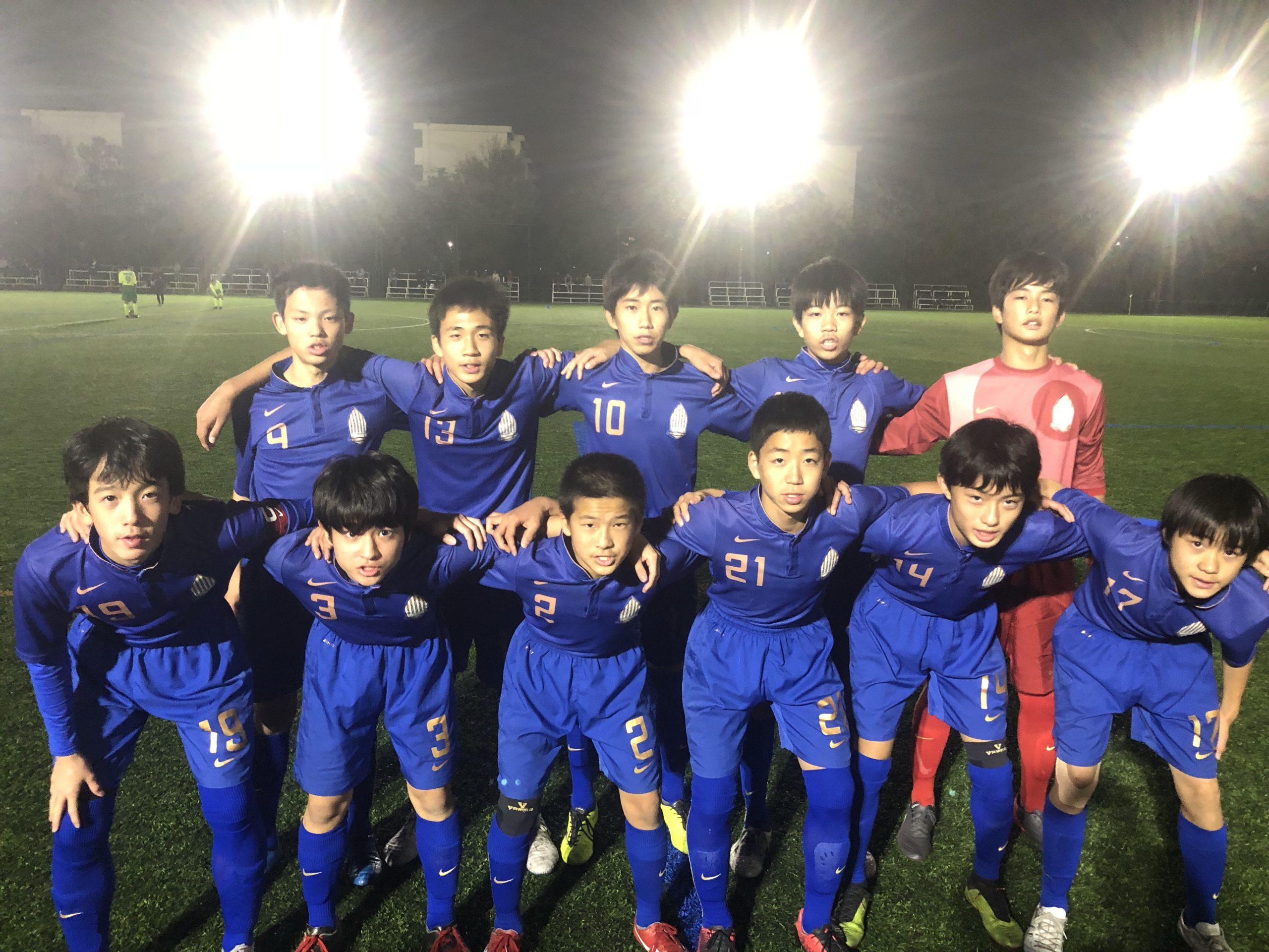 【U14】千葉県クラブユース(U-14)サッカーリーグ 第5節 結果