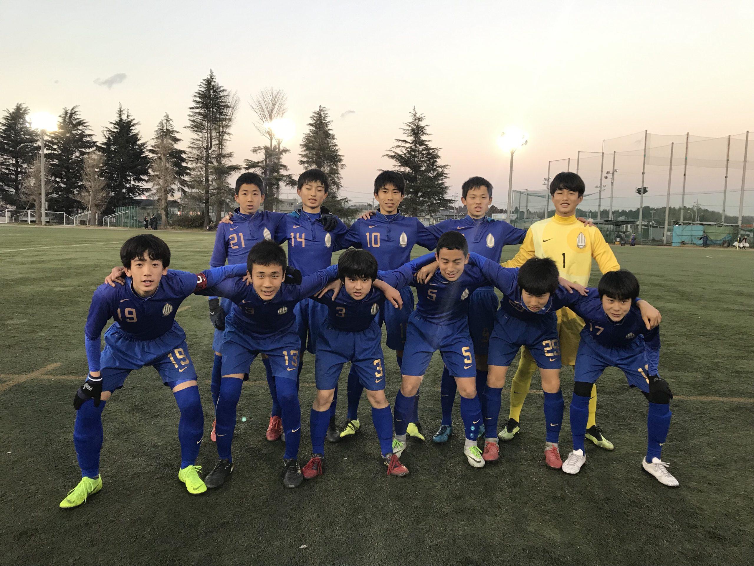 【U15】高円宮杯 U-15サッカー千葉県1部リーグ 第2節