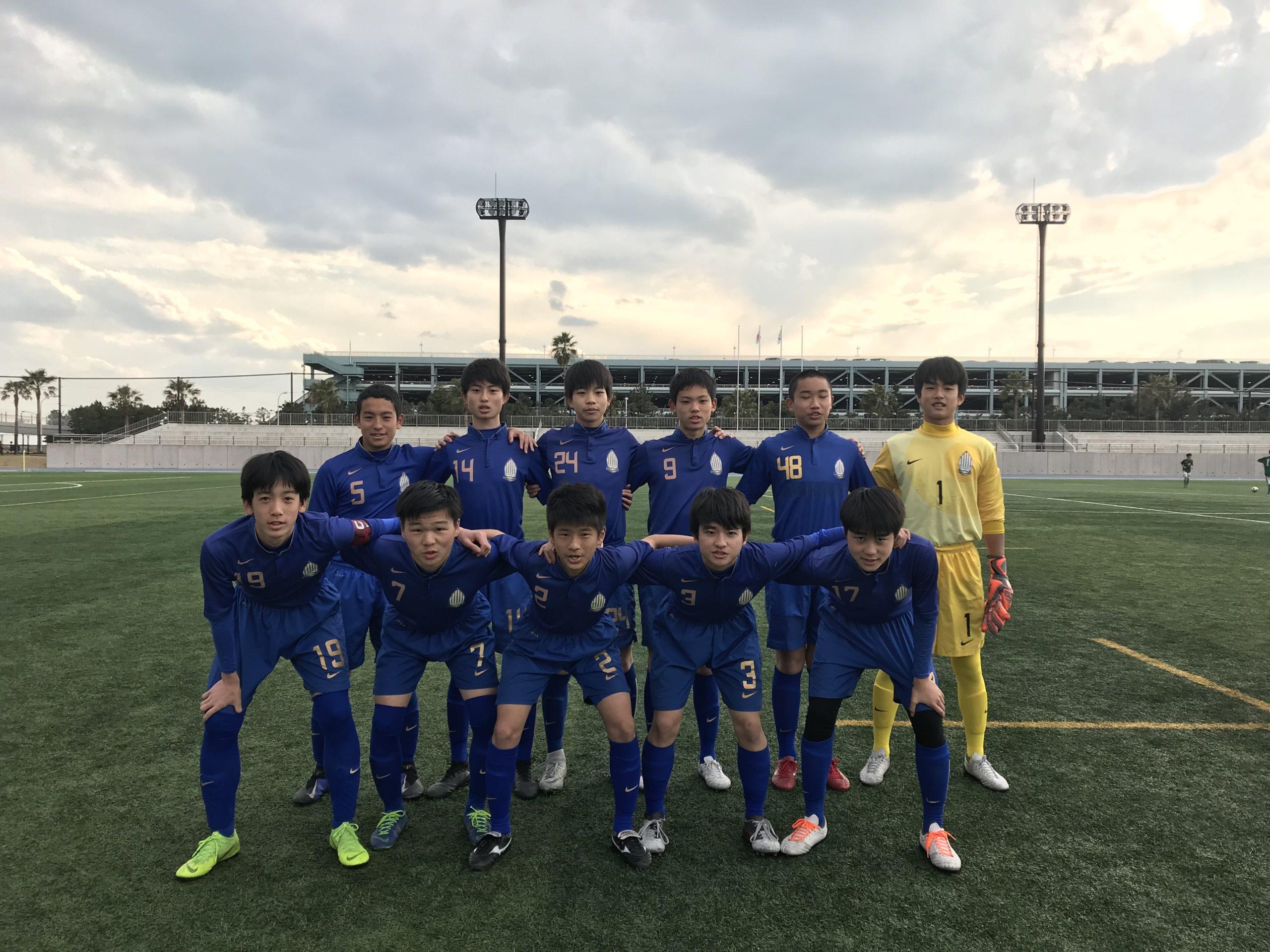 【U15】高円宮杯 U-15サッカー千葉県1部リーグ 第6節