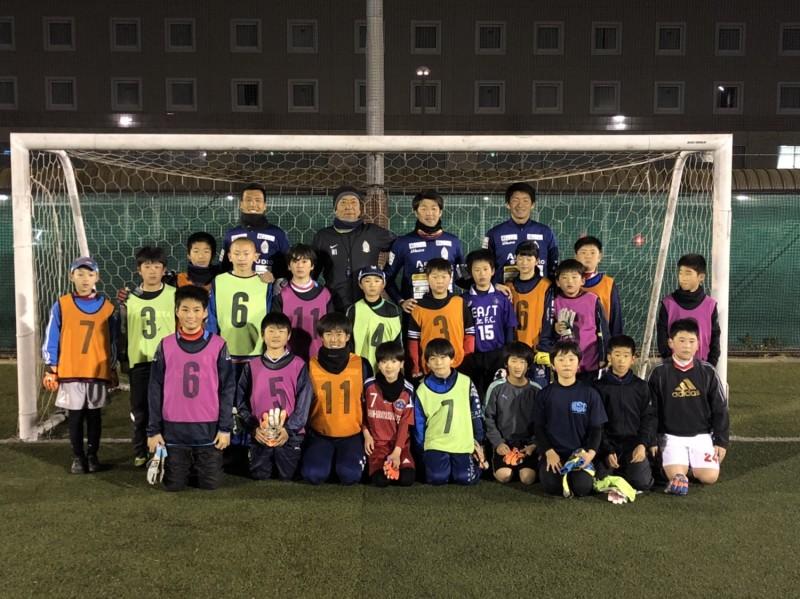 【地域活動】浦安サッカー協会4種 GKスクール開催レポート
