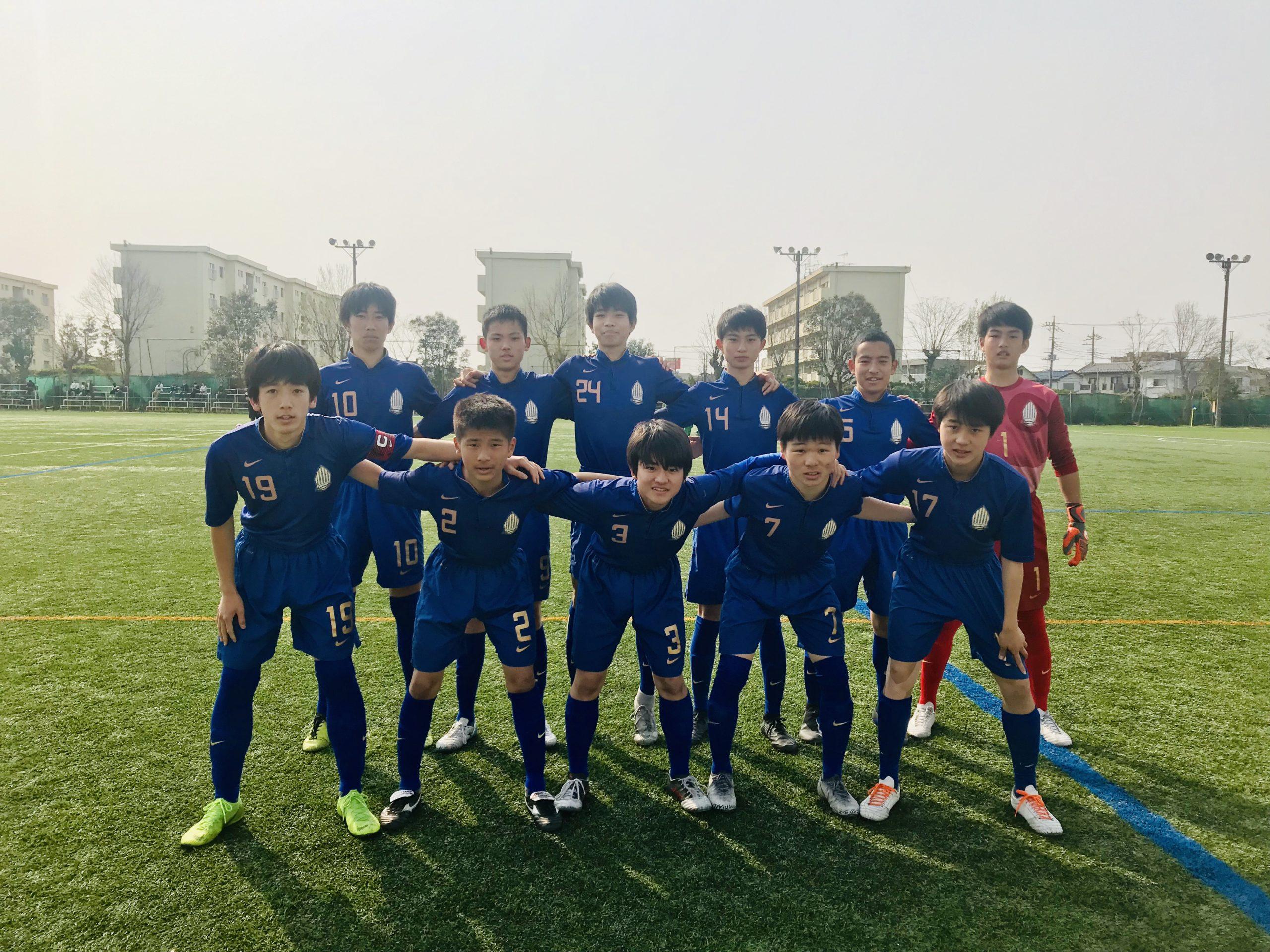 【U15】高円宮杯 U-15サッカー千葉県1部リーグ 第8節