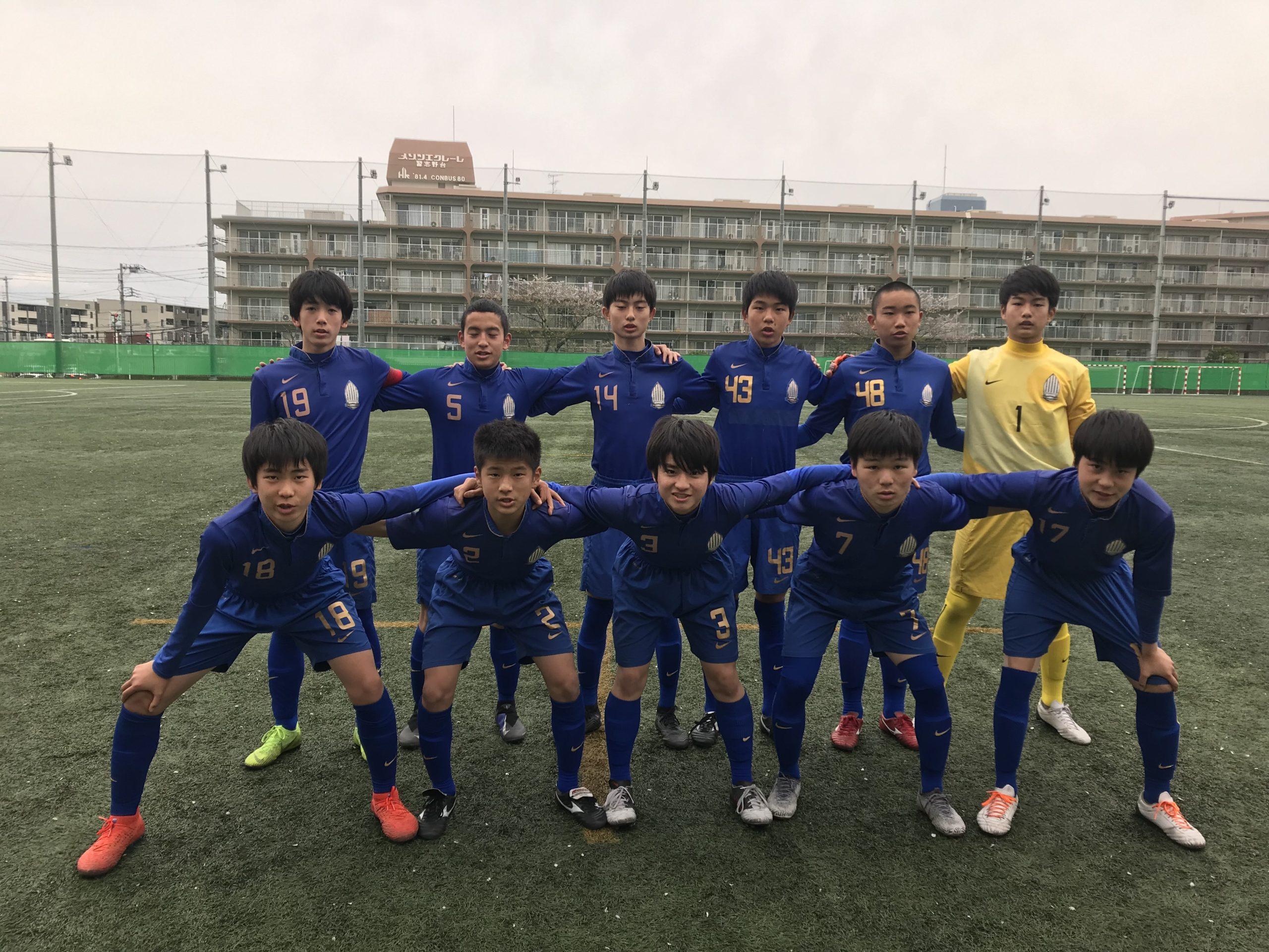 【U15】高円宮杯 U-15サッカー千葉県1部リーグ 第9節