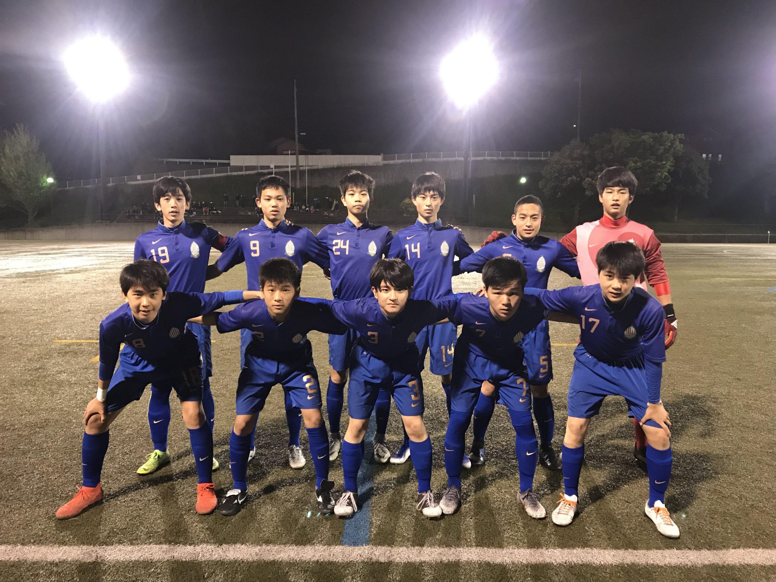 【U15】高円宮杯 U-15サッカー千葉県1部リーグ 第11節