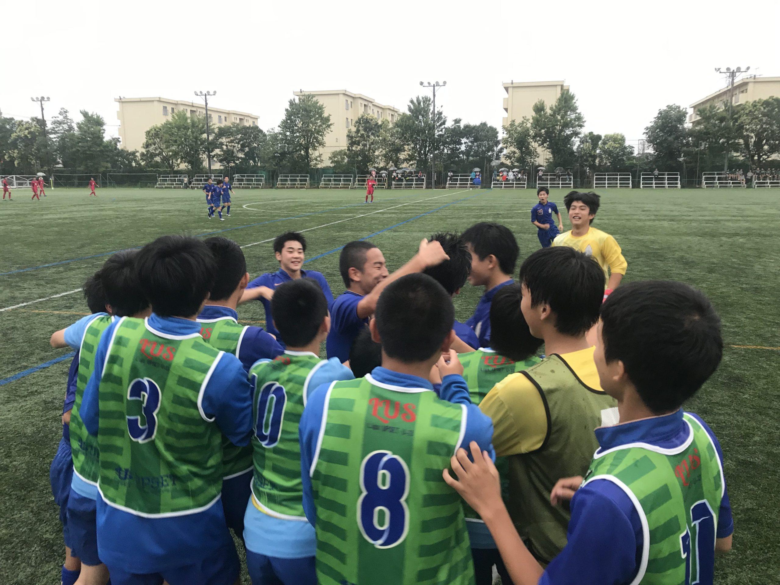 【U15】高円宮杯 U-15サッカー千葉県1部リーグ 第13節