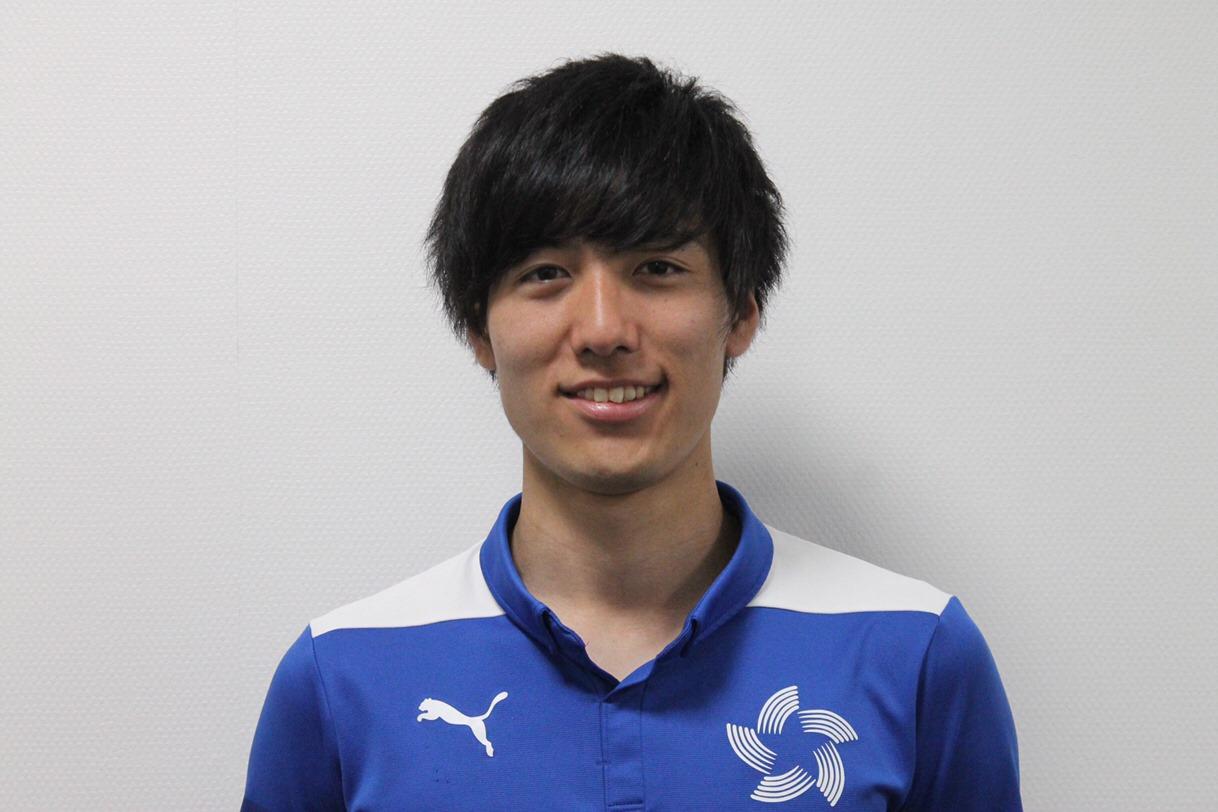 【トップ】平野 貫路 選手 新規加入のお知らせ