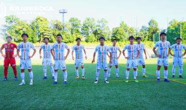 〈試合結果〉後期第1節 vs 桐蔭横浜大学FC