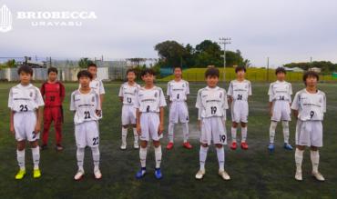 〈試合結果〉千葉県ユースサッカーリーグ1部B第2節